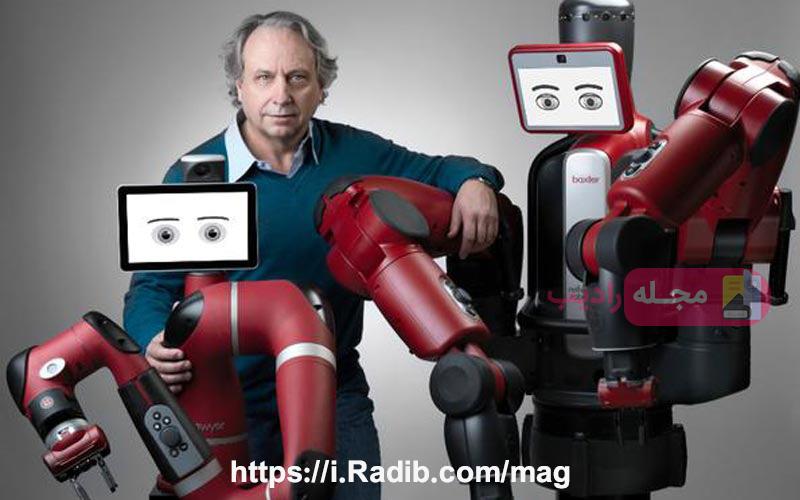 بکستر ربات همدم سالمندان