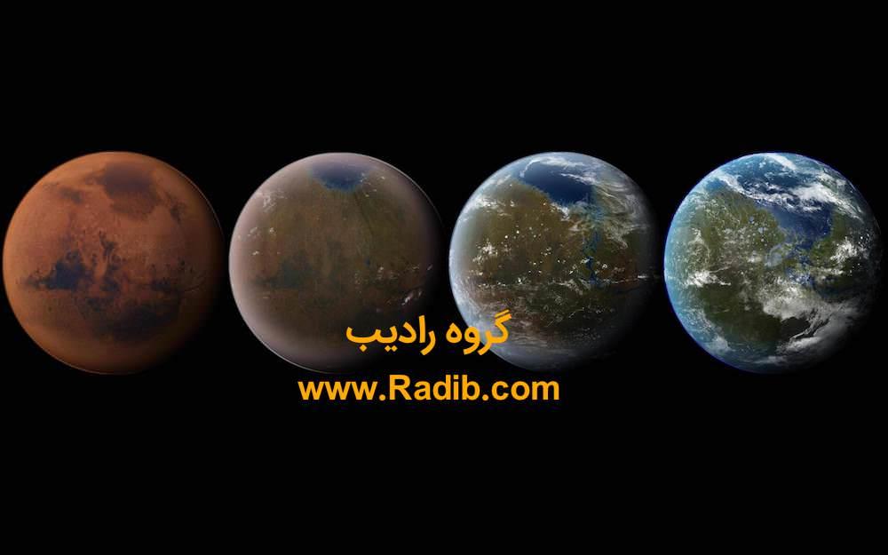 شباهت مریخ به زمین