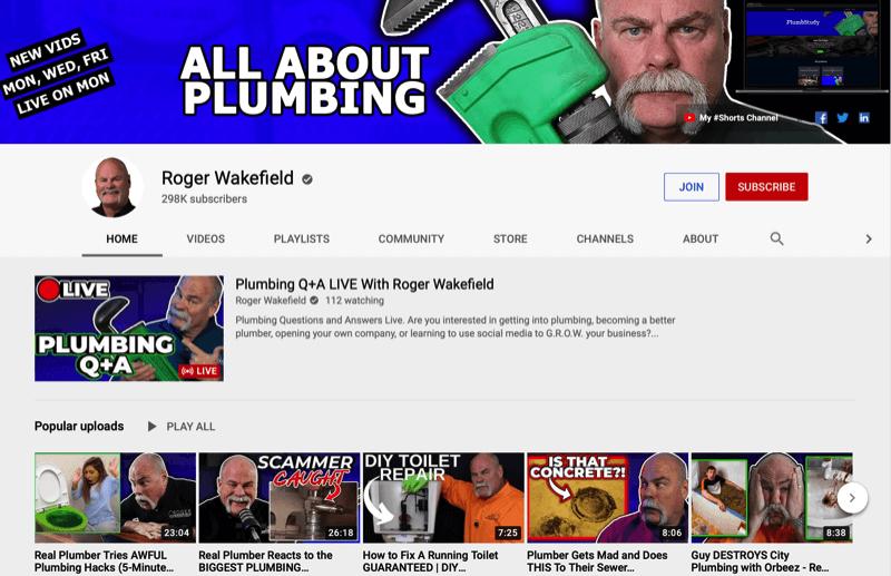 راجر ویکفیلد youtube