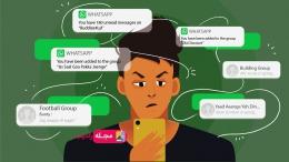 جلوگیری از اد شدن به گروه در واتساپ