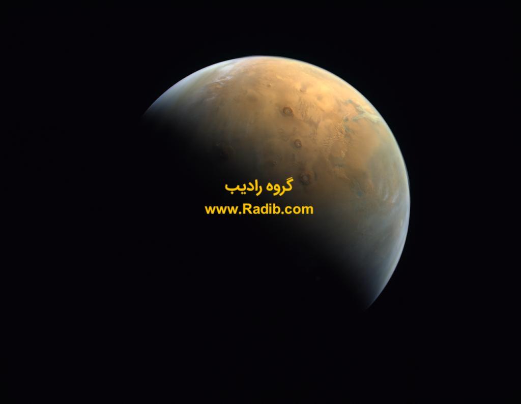 مخابره اولین تصویر ماهواره امید امارات از مریخ